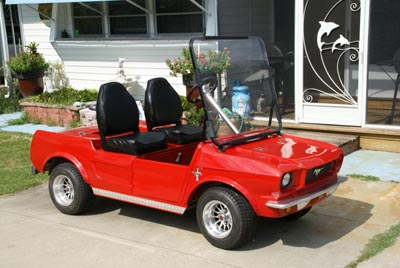 Sherry's Golf Cart